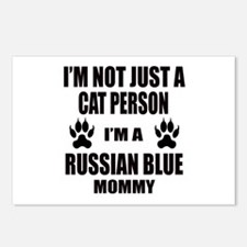 I'm a Russian Blue Mommy Postcards (Package of 8)