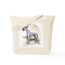 Great Dane Blue Stackin Tote Bag