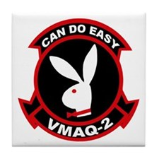 VMAQ-2 Play Boys Tile Coaster