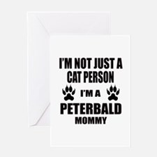 I'm a Peterbald Mommy Greeting Card