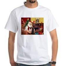 Santa's Two Pugs (P1) Shirt