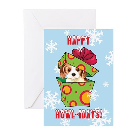 Holiday Cavalier Greeting Cards (Pk of 10)