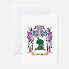 Auld Coat of Arms (Family Crest) Greeting Cards