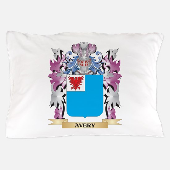 Avery Coat of Arms (Family Crest) Pillow Case