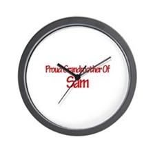 Proud Grandmother of Sam Wall Clock