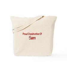 Proud Grandmother of Sam Tote Bag
