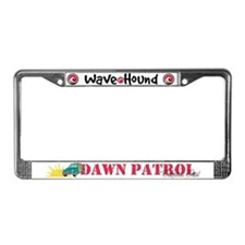Dawn Patrol on the California License Plate Frame
