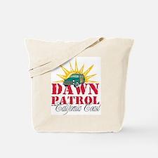 Dawn Patrol on the California Patrol Tote Bag
