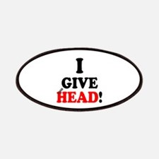 I GIVE HEAD! Patch