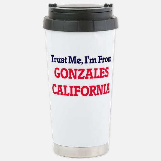 Trust Me, I'm from Gonz Stainless Steel Travel Mug