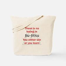 No Losing In Jiu Jitsu Tote Bag