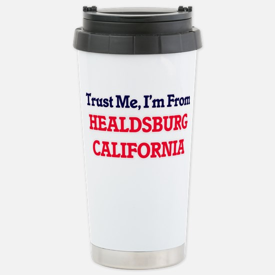 Trust Me, I'm from Heal Stainless Steel Travel Mug