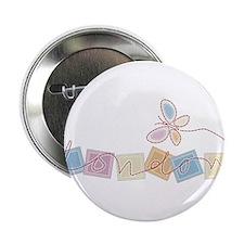 "Butterfly london 2.25"" Button"