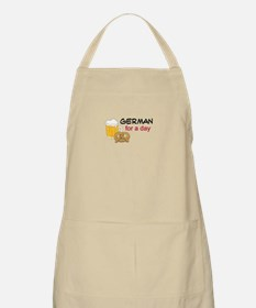German For A Day Apron