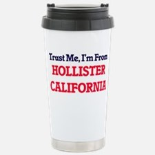 Trust Me, I'm from Holl Stainless Steel Travel Mug