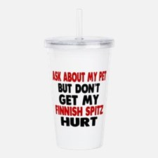 Don't Get My Finnish S Acrylic Double-wall Tumbler