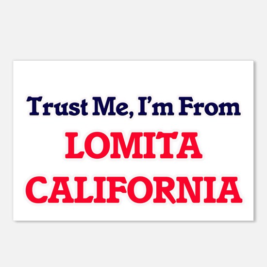 Trust Me, I'm from Lomita Postcards (Package of 8)