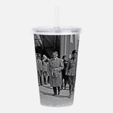 Hitler and Mussolini Acrylic Double-wall Tumbler