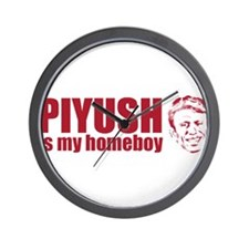 Piyush Is My Homeboy Wall Clock