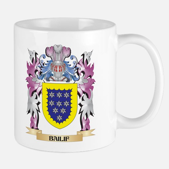 Bailif Coat of Arms (Family Crest) Mugs