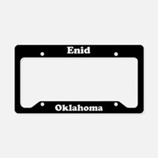 Enid OK License Plate Holder