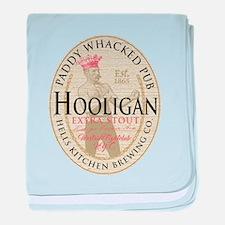 Hooligan Extra Stout baby blanket
