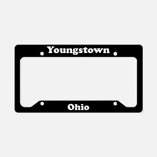 Youngstown OH License Plate Holder