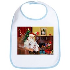 Santa/2 West Highland Bib