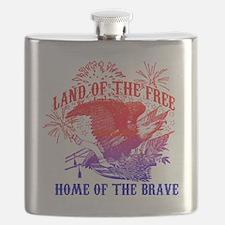 Cute Land free Flask