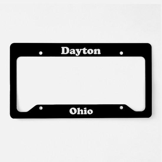 Dayton OH License Plate Holder