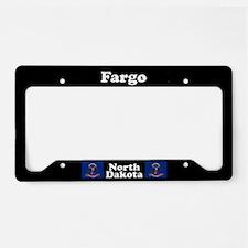 Fargo ND License Plate Holder