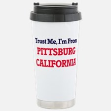 Trust Me, I'm from Pitt Travel Mug
