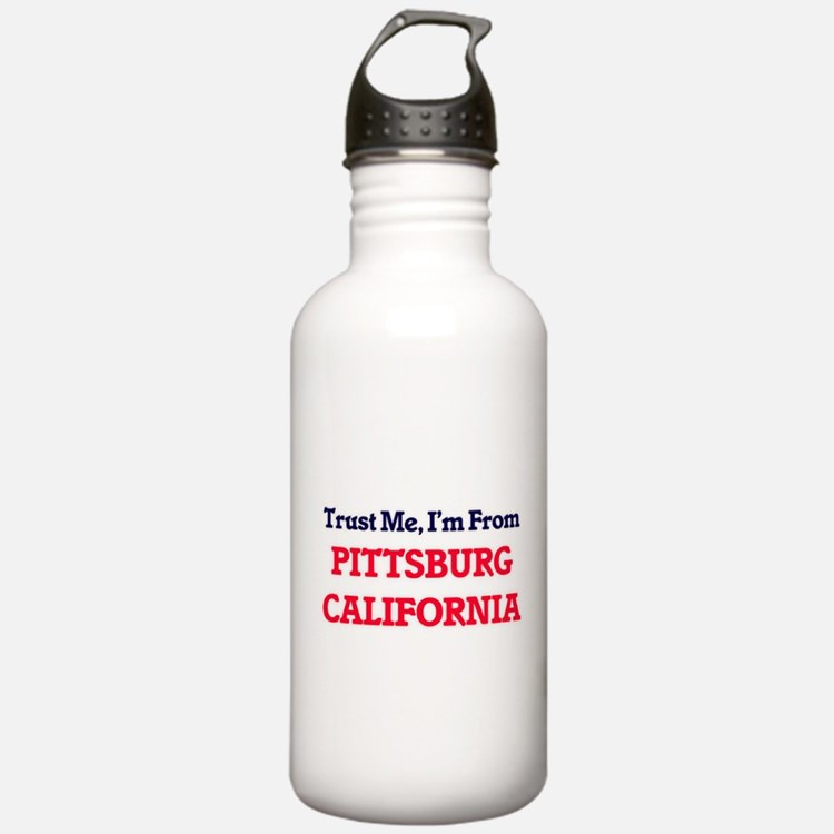 Trust Me, I'm from Pit Water Bottle