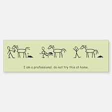 I am a Professional: Groom / Bumper Bumper Bumper Sticker