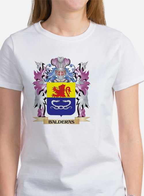 Balderas Coat of Arms (Family Crest) T-Shirt
