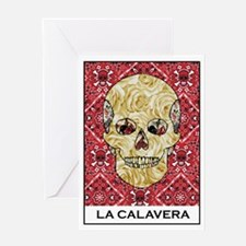 La Calavera Greeting Card