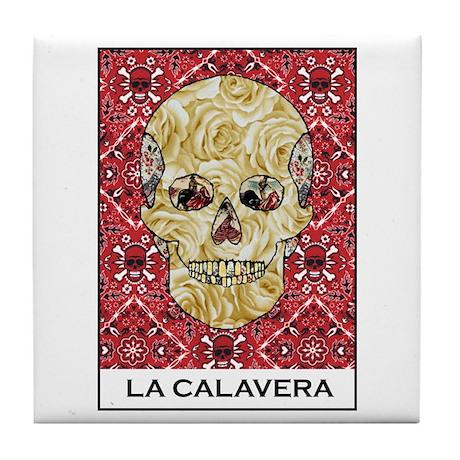 La Calavera Tile Coaster