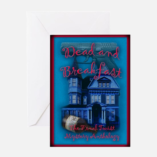 Cute Bed and breakfast Greeting Card