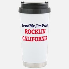 Trust Me, I'm from Rock Stainless Steel Travel Mug