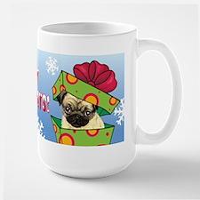 Holiday Pug Mug