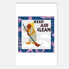 Clean Air Postcards (Package of 8)