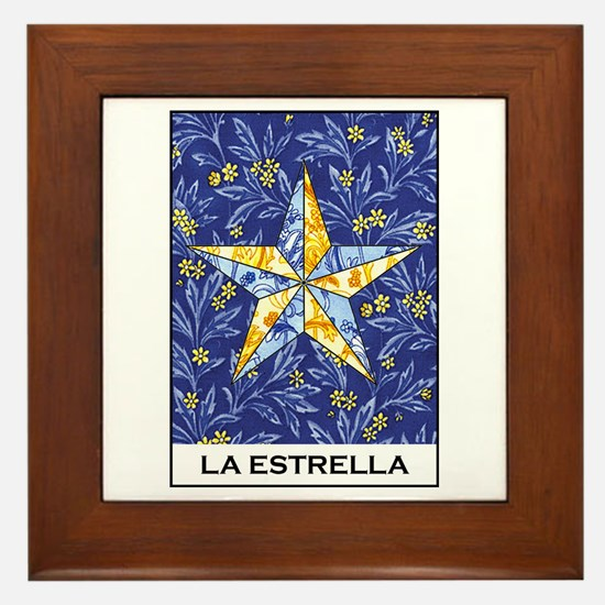 La Estrella Framed Tile
