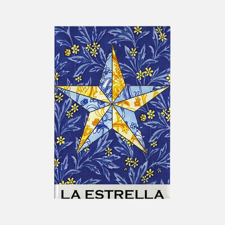 La Estrella Rectangle Magnet