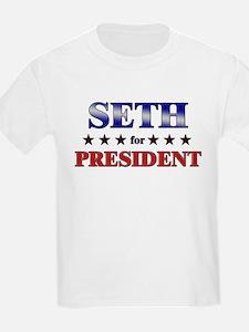 SETH for president T-Shirt