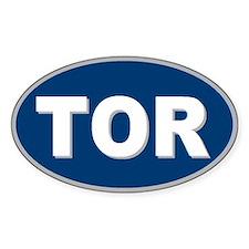 Toronto, Ontario Oval Bumper Stickers