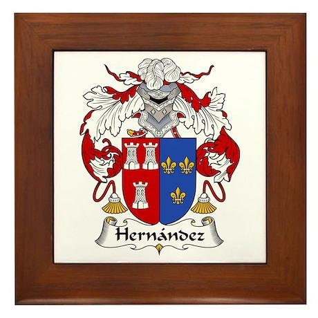 Hernández II Framed Tile