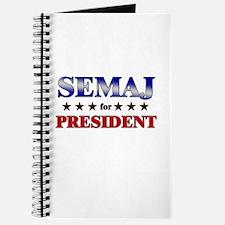 SEMAJ for president Journal