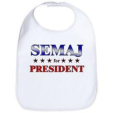SEMAJ for president Bib