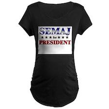 SEMAJ for president T-Shirt