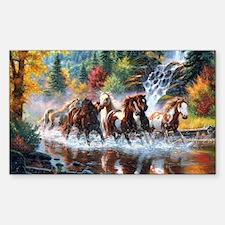 Unique Horses Stickers